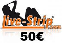 livestrip gutschein 50 euro